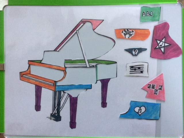 Piano Puzzle Pieces