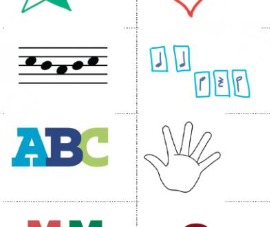 Piano Puzzle Card